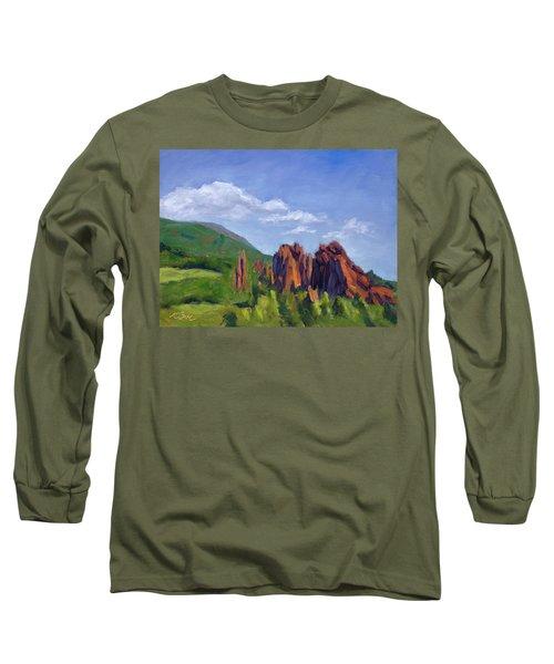 Vista Of The Gods Long Sleeve T-Shirt