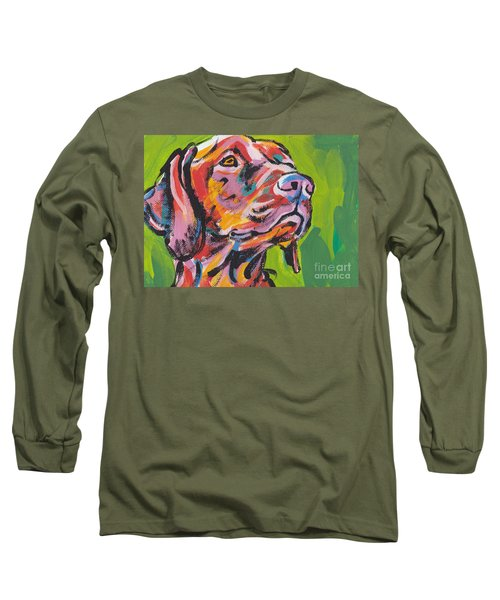 Viva La Vizsla Long Sleeve T-Shirt