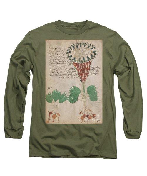 Voynich Flora 15 Long Sleeve T-Shirt