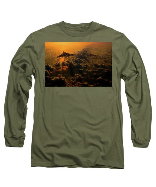 Vulcan Bomber Sunset Long Sleeve T-Shirt