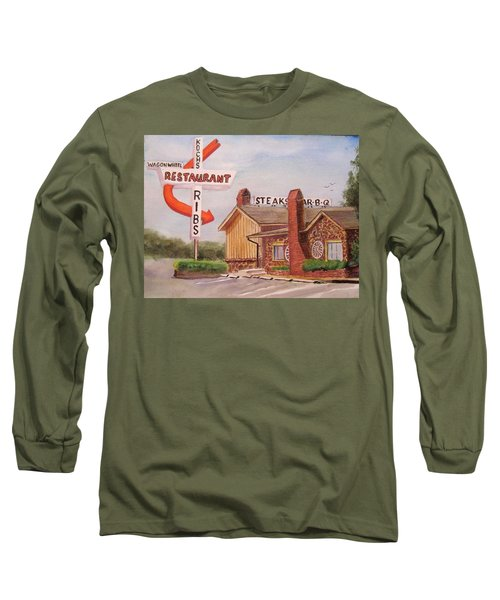 Wagon Wheel Long Sleeve T-Shirt