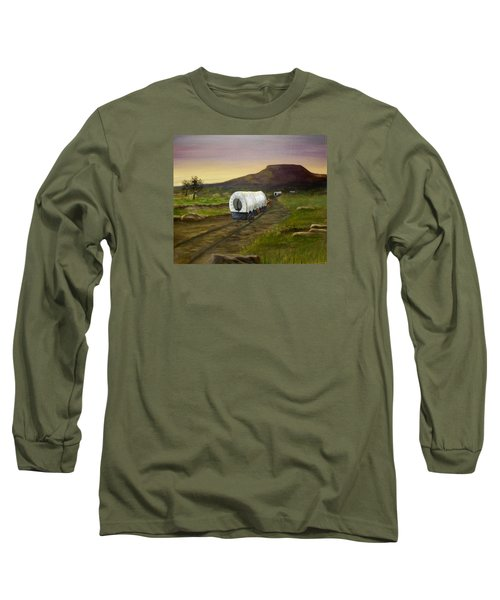 Wagons West Long Sleeve T-Shirt by Sheri Keith