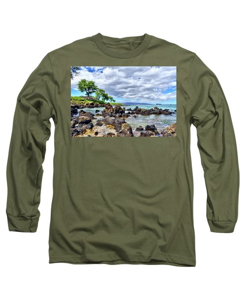 Wailea Beach #2 Long Sleeve T-Shirt