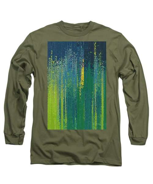Wait For God. Lamentations 3 25 Long Sleeve T-Shirt by Mark Lawrence