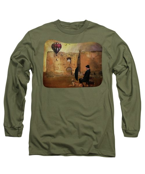 Waiting At The Station Long Sleeve T-Shirt