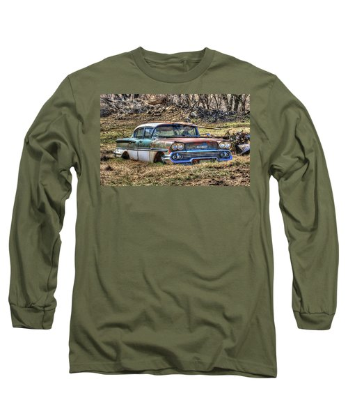 Waiting For A Tow Long Sleeve T-Shirt