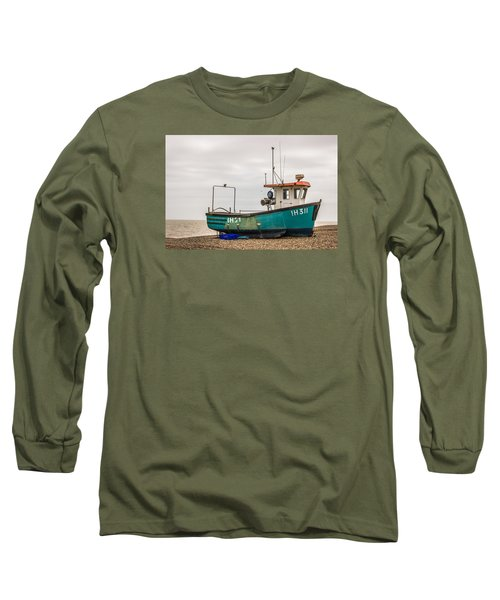 Waiting For Water Long Sleeve T-Shirt by David Warrington
