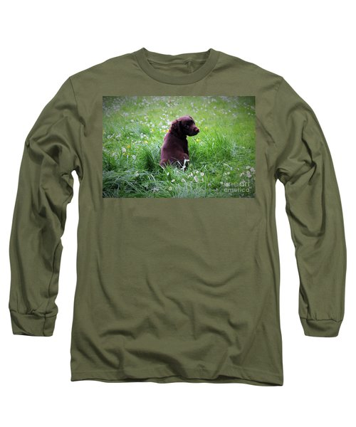 Long Sleeve T-Shirt featuring the photograph Come Play With Me... by Katy Mei