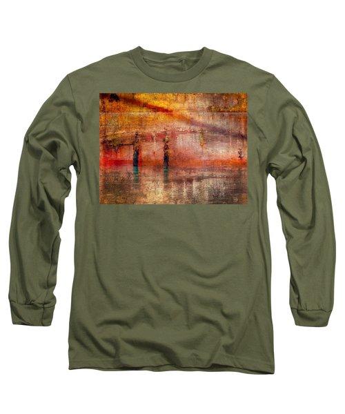 Waiting Long Sleeve T-Shirt by Marcia Lee Jones