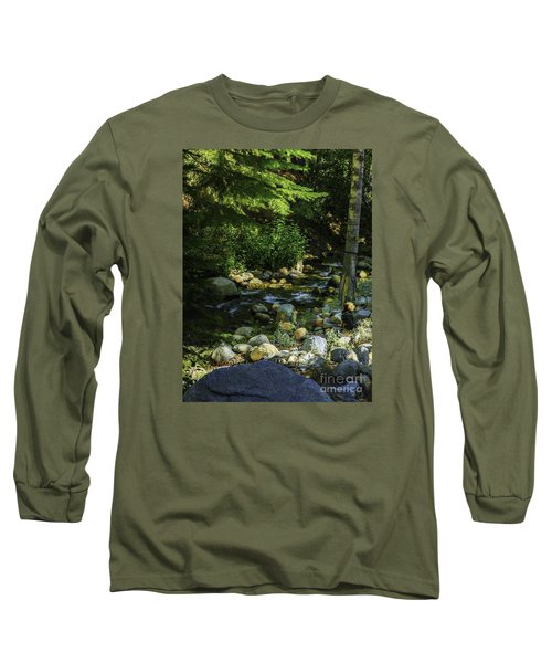 Long Sleeve T-Shirt featuring the photograph Waiting by Nancy Marie Ricketts