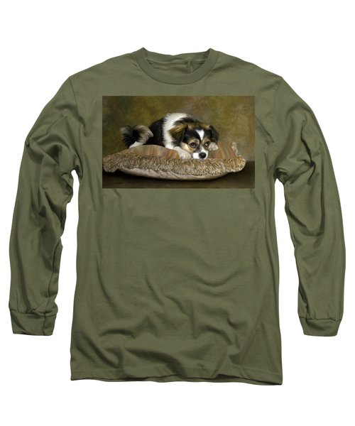 Waiting Long Sleeve T-Shirt by Thanh Thuy Nguyen