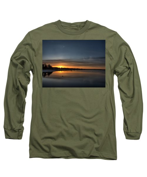 Waking To A Cold Sunrise Long Sleeve T-Shirt