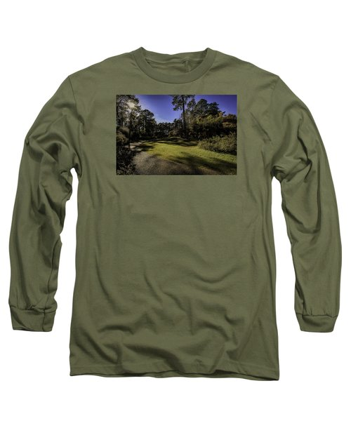 Walk In The Sun Long Sleeve T-Shirt by Ken Frischkorn