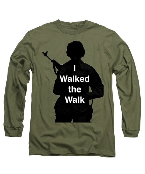 Long Sleeve T-Shirt featuring the photograph Walk The Walk by Melany Sarafis