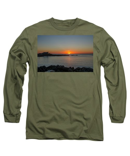 Walkers Point Kennebunkport Maine Long Sleeve T-Shirt