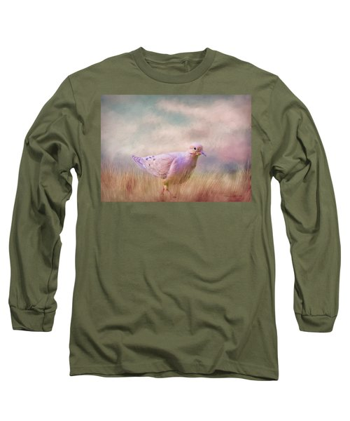 Long Sleeve T-Shirt featuring the photograph Walking Across America by Bellesouth Studio