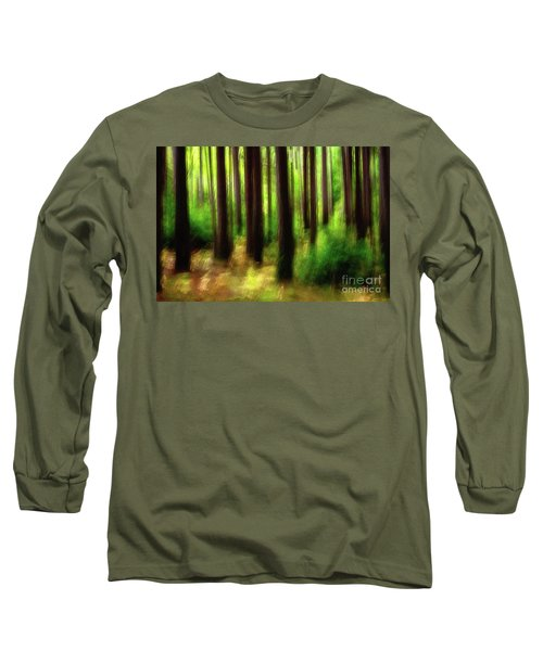 Walking In The Woods Long Sleeve T-Shirt