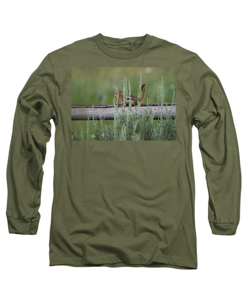 Walking The Line Long Sleeve T-Shirt