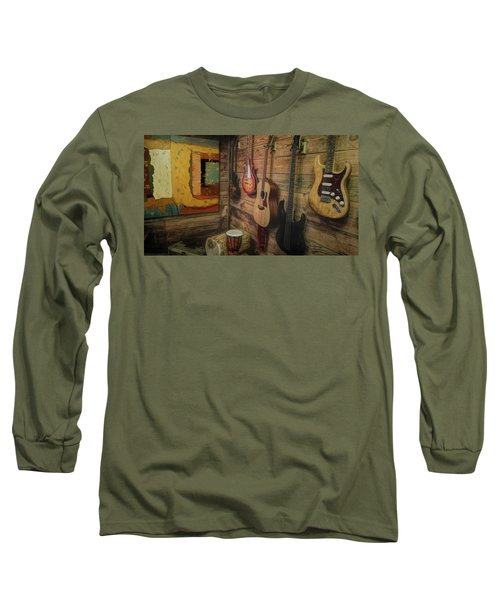 Wall Of Art And Sound Long Sleeve T-Shirt