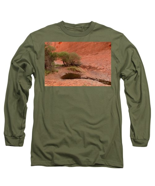 Long Sleeve T-Shirt featuring the photograph Walpa Gorge 01 by Werner Padarin