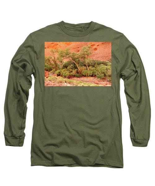 Long Sleeve T-Shirt featuring the photograph Walpa Gorge 03 by Werner Padarin