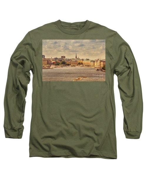 Warm Stockholm View Long Sleeve T-Shirt