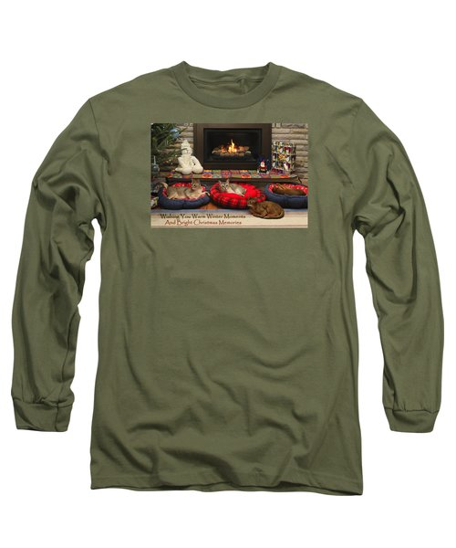Long Sleeve T-Shirt featuring the photograph Warm Winter Moments by Gary Hall