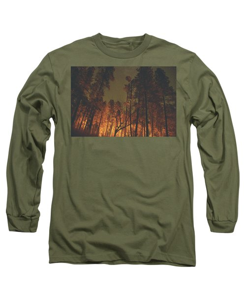 Warmth Of Trees And Stars Long Sleeve T-Shirt