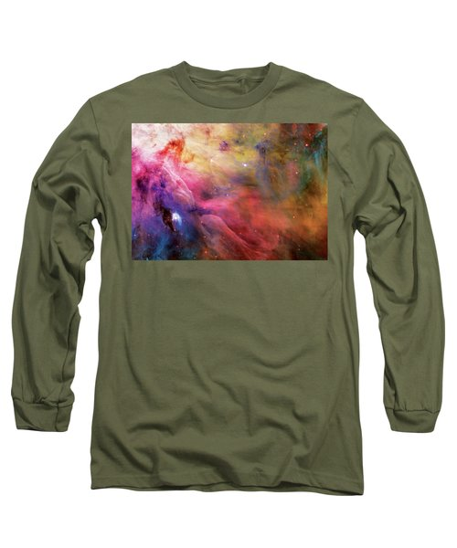 Warmth - Orion Nebula Long Sleeve T-Shirt by Jennifer Rondinelli Reilly - Fine Art Photography