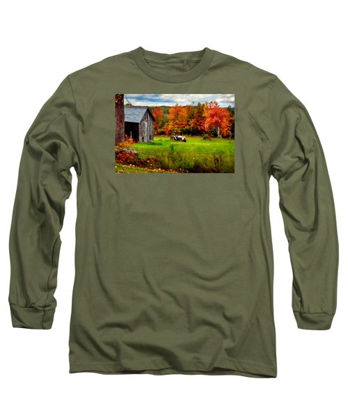 Warner Farm Long Sleeve T-Shirt by Tricia Marchlik