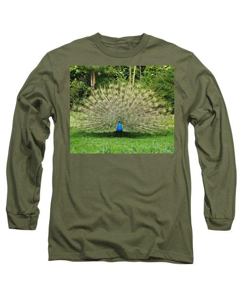 Warwick Castle Peackock Long Sleeve T-Shirt