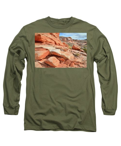 Wash 5 In Valley Of Fire Long Sleeve T-Shirt