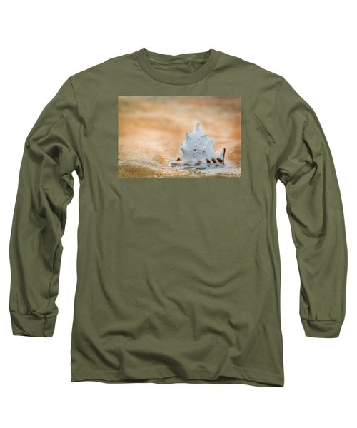 Long Sleeve T-Shirt featuring the photograph Washed Up by Sebastian Musial