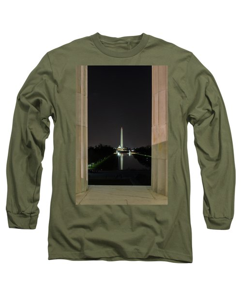 Washington Monument 2 Long Sleeve T-Shirt