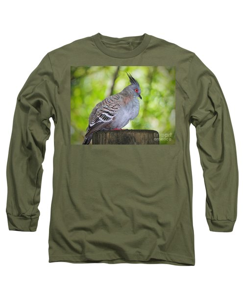 Watchful Eye Long Sleeve T-Shirt by Judy Kay