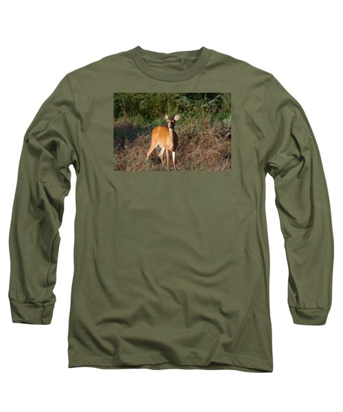 Long Sleeve T-Shirt featuring the photograph Watching Me Closely by Monte Stevens
