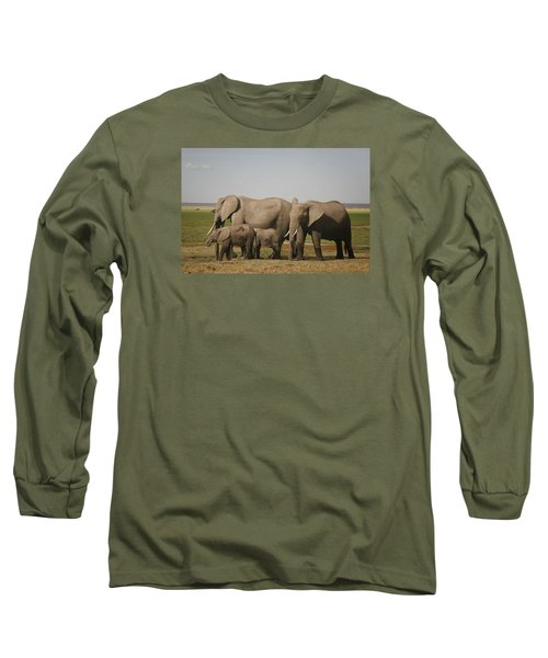 Long Sleeve T-Shirt featuring the photograph Watching The Children by Gary Hall