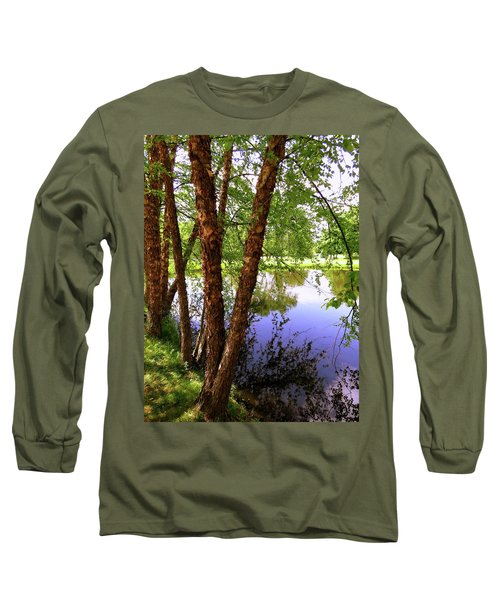 Water Birch Long Sleeve T-Shirt