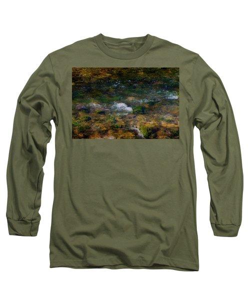 Water Colors Long Sleeve T-Shirt