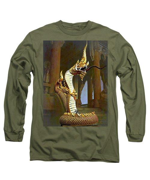 Water Dragon-  Phaya Naga Long Sleeve T-Shirt