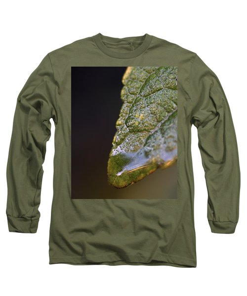 Long Sleeve T-Shirt featuring the photograph Water Droplet V by Richard Rizzo