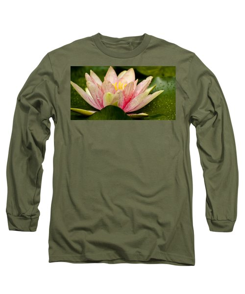 Water Lilly At Eye Level Long Sleeve T-Shirt