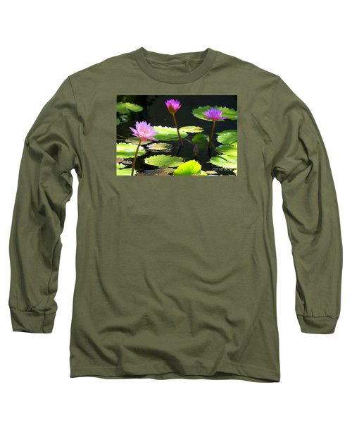 Water Lily 5 Long Sleeve T-Shirt