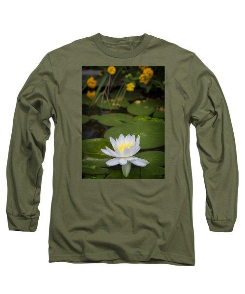 Water Lily IIi Long Sleeve T-Shirt