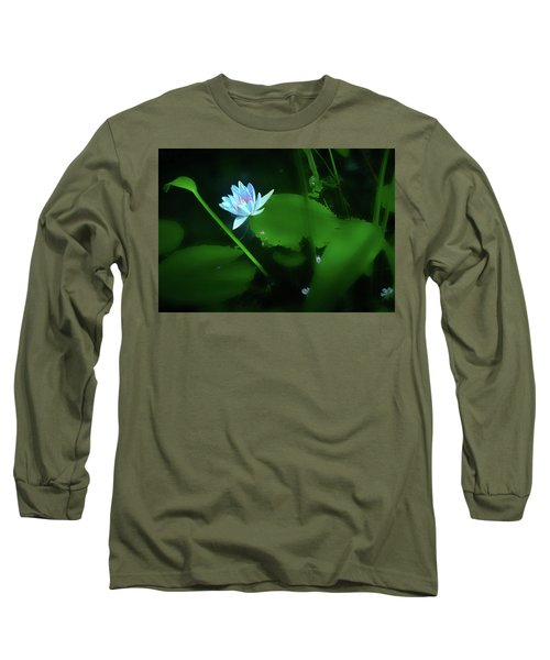 Water Lily N Pond Long Sleeve T-Shirt