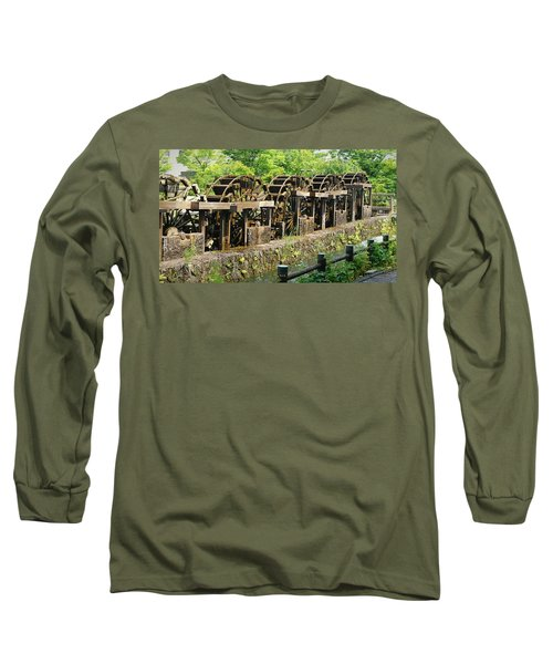 Water Wheel2 Long Sleeve T-Shirt