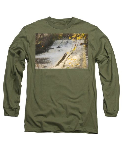 Water Over The Dam. Long Sleeve T-Shirt