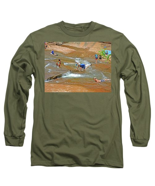 Water Play 3 Long Sleeve T-Shirt