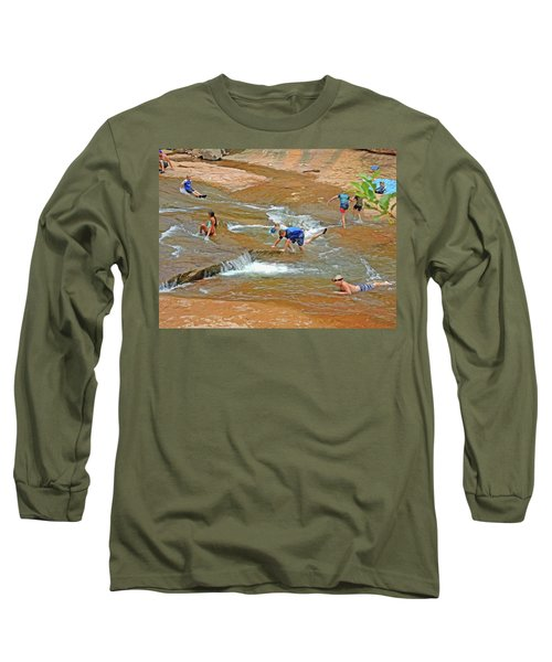 Water Play 3 Long Sleeve T-Shirt