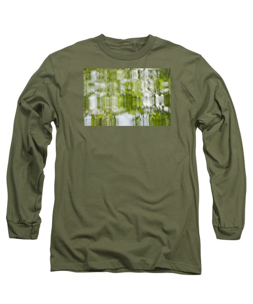 Long Sleeve T-Shirt featuring the photograph Water Reflections by Wanda Krack
